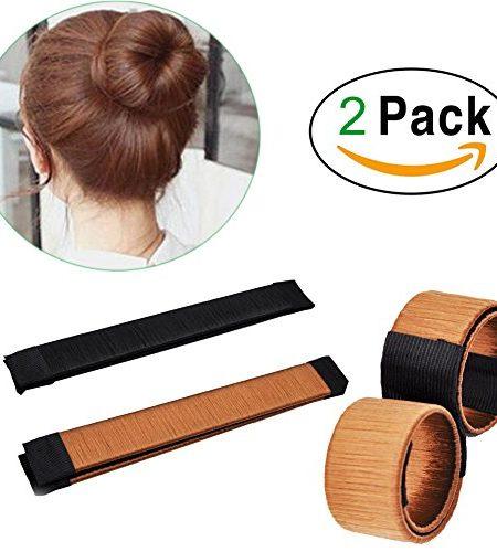 2-PCS-Percke-Haarknoten-diskmakerHaar-DonutDutt-Hairpiece-Bob-Maker-Werkzeug-Haar-0