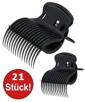 21-x-Lockenwickler-Klammern-Lockenwickler-Halter-Lockenwickler-Clipse-Friseurbedarf-0