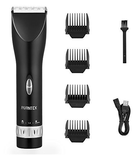AVANTEK-Haarschneider-Elektronische-Friseur-Set-Haarschneidemaschine-fr-Kinder-und-Herren-USB-Aufladen-Batteriekapazitt-2000mAh-0