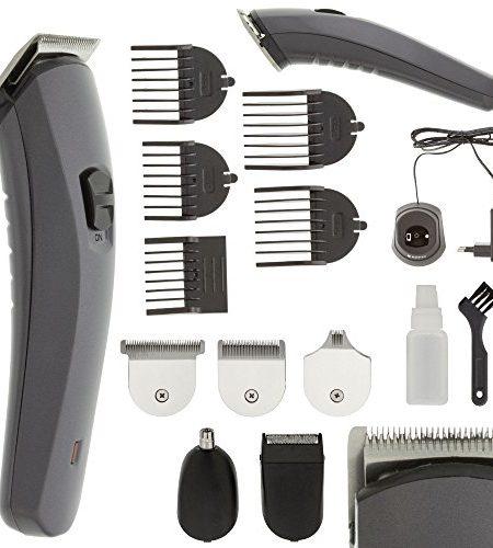 Akku-Titan-Herren-Damen-Haarschneider-Haarschneidemaschine-Set-Aufstze-Rasierer-Nasenhaar-Trimmer-Haar-Schneide-Maschine-Cutter-0