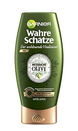 Garnier-Wahre-Schtze-Splung-Conditioner-fr-intensive-Haarpflege-Regeneriert-tiefenwirksam-aus-nativem-Olivenl-fr-sehr-trockenes-beanspruchtes-Haar-ohne-Parabene-1-x-200-ml-0